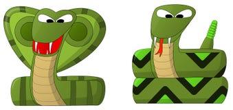 Slangen Stock Foto