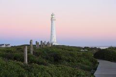 Slangkop Leuchtturm Stockbild