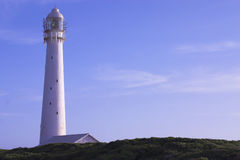 Slangkop Lighthouse. The Slangkop Lighthouse in Kommetjie, Western Cape. The tallest lighthouse in South Africa Royalty Free Stock Photos