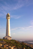 Slangkop Lighthouse. The Slangkop Lighthouse in Kommetjie, Western Cape. The tallest lighthouse in South Africa Stock Image