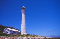 Slangkop Lighthouse Royalty Free Stock Photos