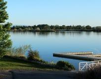 Slangrivier, Burley Idaho stock foto
