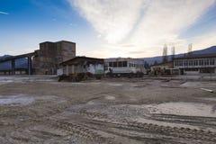Slanic Prahova salt pan - ruins Royalty Free Stock Image