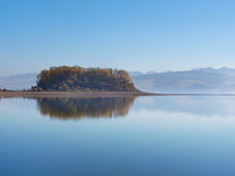 Slanica Island early in the morning Stock Photo