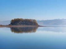 Slanica wyspa wcześnie w ranku zdjęcie stock