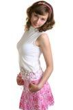 slank flicka Royaltyfri Foto