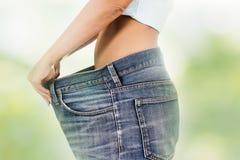 Slank het Lichaams Succesvol Dieet van het Taillevermageringsdieet Stock Afbeelding