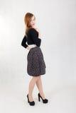 Slank sensueel meisje Royalty-vrije Stock Foto's