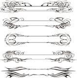 Slanka dekorativa paneler Royaltyfri Fotografi