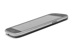 Slanka Smartphone Arkivfoton
