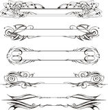 Slanke decoratieve panelen Royalty-vrije Stock Fotografie