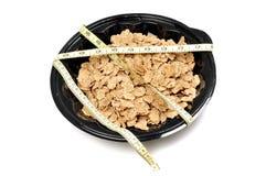 Slanke dieetcornflakes Royalty-vrije Stock Afbeeldingen
