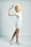 Slanke vrouw Royalty-vrije Stock Fotografie