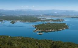 Slansko湖 库存照片