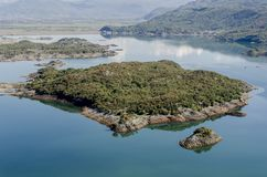 Slansko jezioro, Montenegro Obrazy Royalty Free