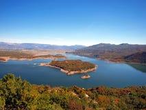 Slansko lake, Montenegro Royalty Free Stock Image