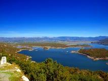 Slansko lake, Montenegro Stock Image