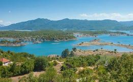 Slansko lake Royalty Free Stock Image