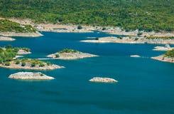 Slansko lake royalty free stock photography