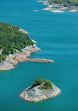 Slansko lake Royalty Free Stock Images