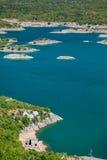 Slansko lake Stock Images