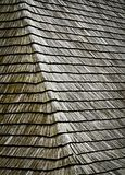 Slant on shingles roof Stock Photography