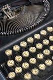 Slant vintage typewriter Stock Images