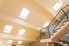 slanted ceiling Stock Photos