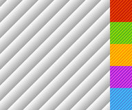 Slanted lines pattern with gradient fills. Each tile is seamless Stock Photos