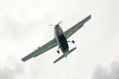 Slanted Small Plane Royalty Free Stock Photos