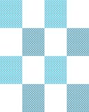 Slanting lines, seamless pattern. Rectangles with parallel diagonal slanting lines, seamless pattern Stock Photo