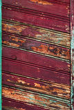 Slanting Old Wooden Planks Stock Photography