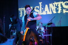 THE Slants Royalty Free Stock Photo