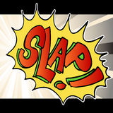 Slap Noise Background Royalty Free Stock Photography