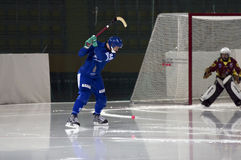 Slap Shot Royalty Free Stock Images