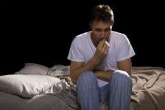 slapeloosheid Stock Foto