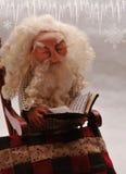 Slaperige Kerstman Royalty-vrije Stock Fotografie