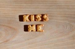 Slaperige poney Hoop van eetbare brieven Stock Afbeeldingen