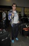 slapp skådespelareflygplatsdavid hasselhoff royaltyfria foton
