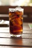slapp svart drink Royaltyfri Foto