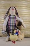 slapp toy för kanin Arkivbild