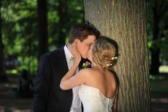 slapp tree för kyss Fotografering för Bildbyråer