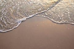 slapp wave för hav Fotografering för Bildbyråer