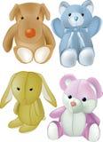 slappa toys för barn royaltyfri illustrationer