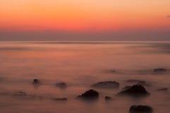 slappt hav Fotografering för Bildbyråer