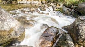 slappt vatten Arkivfoton