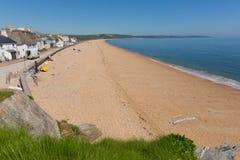Slapton piaski plażowy Devon UK fotografia stock