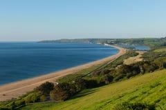 Slapton Sands beach and coast Devon England UK stock photos