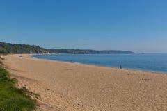 Slapton Sands beach Devon England Uk stock images
