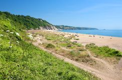 Slapton Sands, Devon Royalty Free Stock Photography